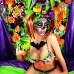 lindsay-marie-sexy-halloween-zombie-skull-skeleton-girl